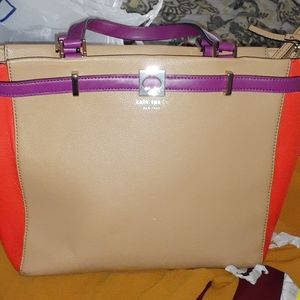 Kate Spade Multicolored Leather Tote Authentic